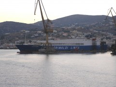 Eurocargo Napoli in Syros 28-08-10.JPG