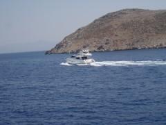 Unknown yacht