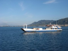 Maria P, crossing the Rion Straits, 26-10-2010.jpg