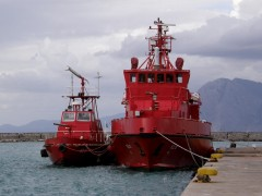 fire fighting crafts @ patras