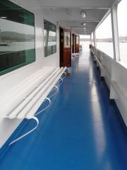 Navarhos Apostolis II Sun Deck Corridor