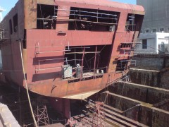 makedonia on dry dock