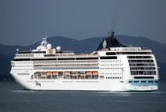 MSC Opera at Corfu