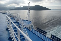 Cruise Olympia - view aft