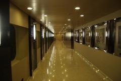 Cruise Olympia - Corridor on deck 10