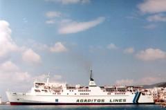 Naias II at Tinos port