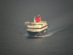 Nissos Mykonos approaching Vathi
