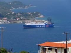 Ippotis at Vathi port.