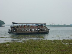 Small passenger ship @Cochin