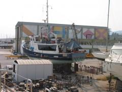 Fishing Boat at Planaco Yachtyard - Aegina