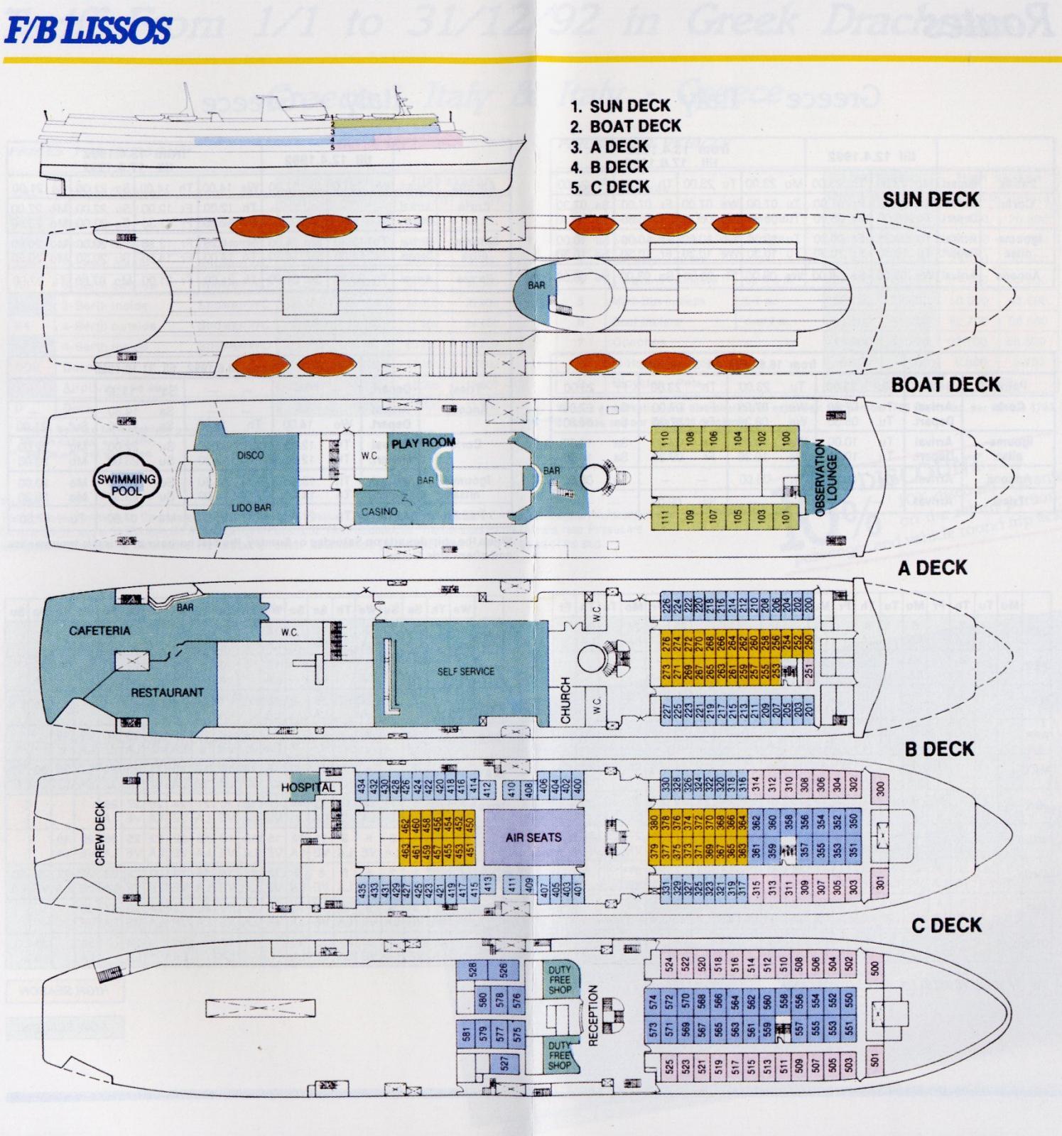 Lissos deck plan ga plans shipfriends for Deck plans online