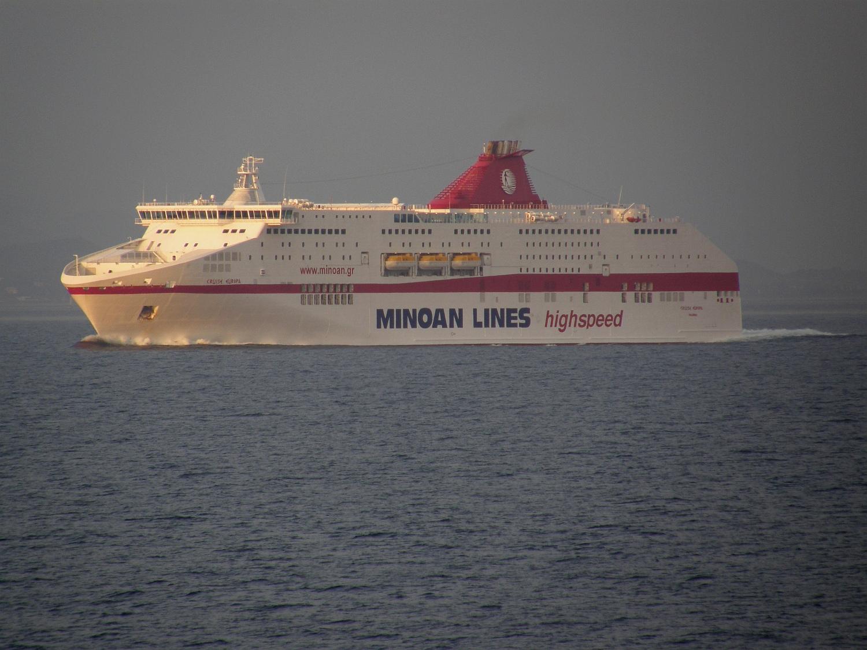 cruise europa @ full speed off messolongi
