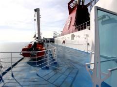 cruise europa bridge deck