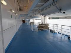 cruise europa side decks