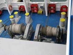 cruise europa stern winches