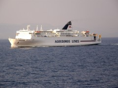 proud ionian king@patras gulf  westbound 180710