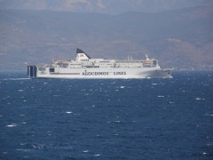 ionian king off patra