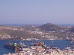 Σύρος (Λιμάνι & Νεώρειον)