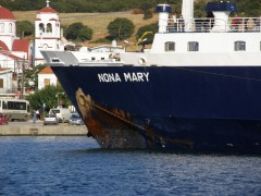 Nona Mary @ Kamariotissa Ferry Terminal, Samothraki