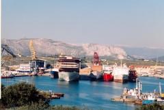Ampelakia shipyards