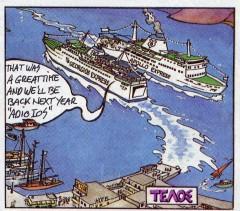Cartoon of Georgios & Apollo Express