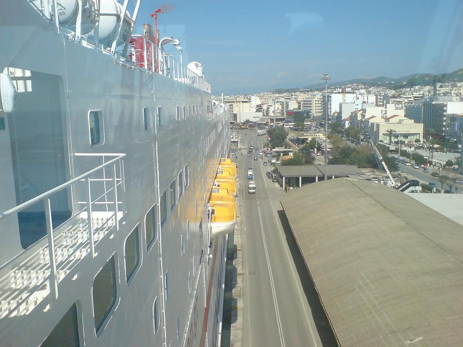 Cruise Europa view aft
