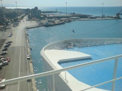 Cruise Europa view fwd