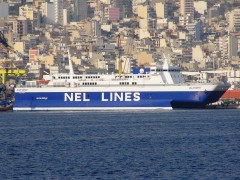 Alkyoni with NEL LINES Livery