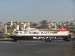 Express Skiathos Return After Sea Trials