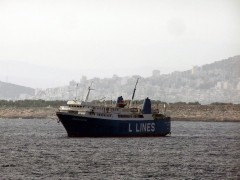 Panagia Hozoviotissa last voyage