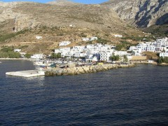 Port of Aegiali, Amorgos
