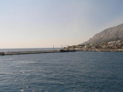 Port of Agios Kyrikos. Ikaria