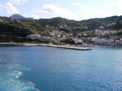 Port of Evdilos, Ikaria
