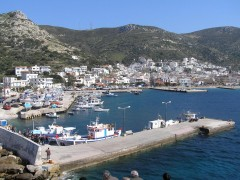 Port of Fourni, Ikaria