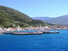 Port of Sami, Cefalonia