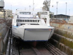 Ano Chora II on Drydock