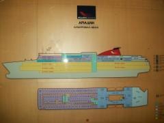 Ariadne - Deck plan