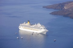 Costa Concordia - Santorini
