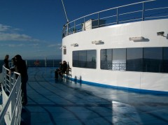 Cruise Europa - Stern deck