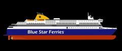 Possible design of newbuilding for Blue Star