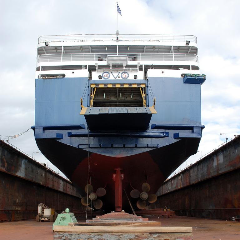 RODANTHI - The stern