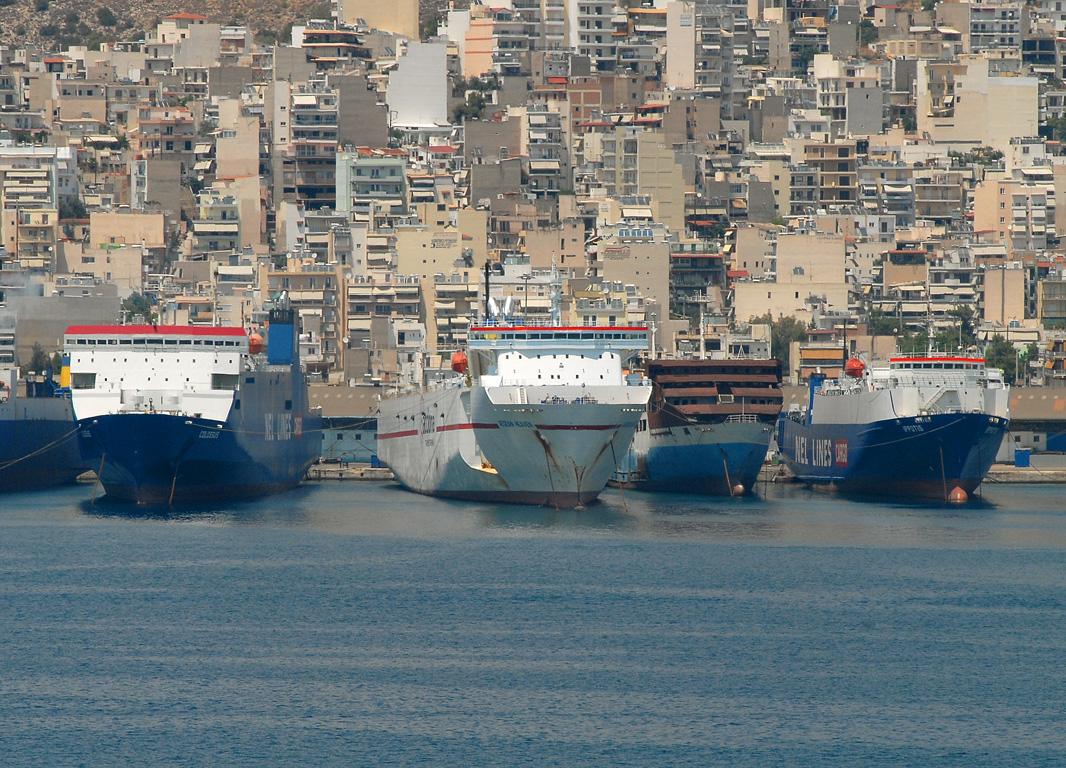 SHIPS IN PERAMA