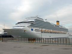 2009 - FIRST CRUISE SHIP IN PIRAEUS