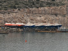 HYDROFOILS In Avlida Shipyards