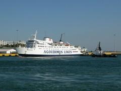 IONIAN SPIRIT First arrival in Piraeus_1