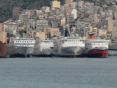 PASSENGERS SHIPS In Perama