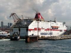 CRUISE EUROPA @ On Drydock