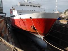 FIVOS - On drydock