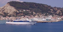 proteus departure from Zakynthos Port 160705
