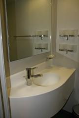 4-bed cabin bathroom